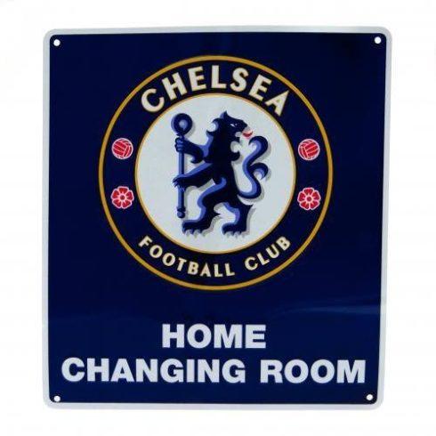 Chelsea fém tábla öltöző szoba