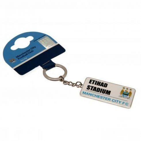 Manchester City fém kulcstartó stadionos SS