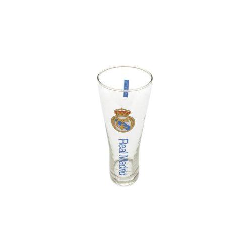 Real Madrid sörös pohár üveg címeres nagy