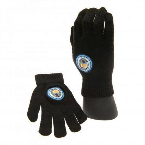 Manchester City kötött téli kesztyű Junior