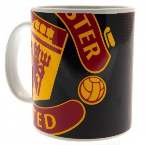 Manchester United bögre kerámia Big Crest