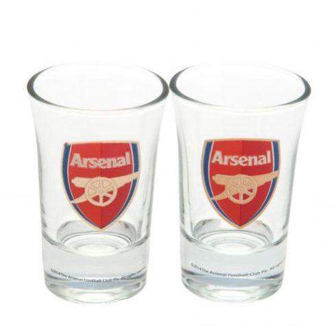 Arsenal üveg feles pohár 2db-os