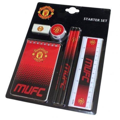 Manchester United kezdő iskolai készlet 7db-os