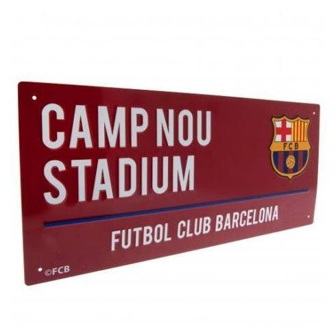 FC Barcelona címeres fém utca tábla Grana