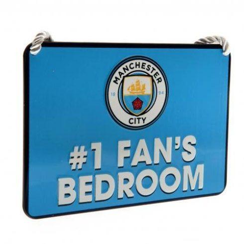 Manchester City fém hálószoba tábla Nr, 1 Fan