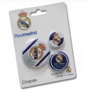 Real Madrid kitűző szett 3db-os