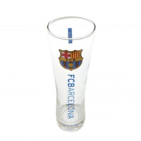 FC Barcelona sörös pohár üveg címeres nagy
