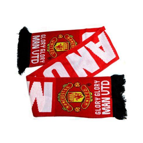 Manchester United szurkolói sál Glory Glory