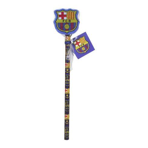 FC Barcelona nagy címeres radíros ceruza 1db-os