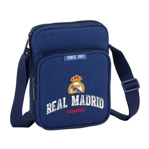 Real Madrid közepes oldaltáska Blue 2018