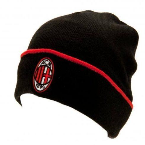 AC Milan kötött téli sapka visszahajthatós TU