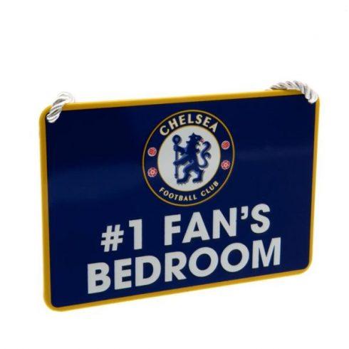 Chelsea fém hálószoba kis tábla Nr, 1, Fan