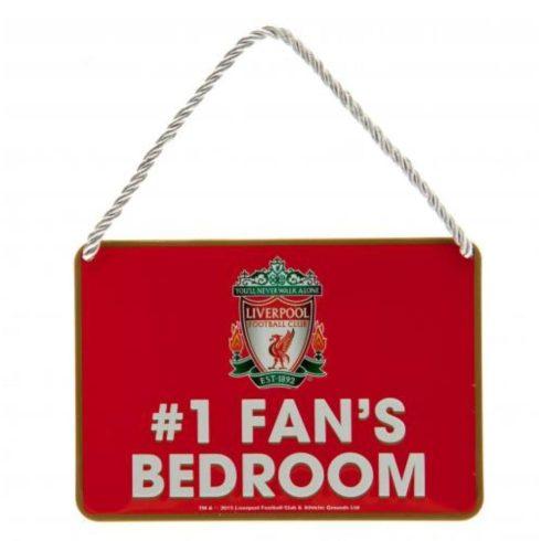 Liverpool fém hálószoba kis tábla Nr, 1, Fan