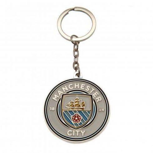 Manchester City kulcstartó fém New Crest