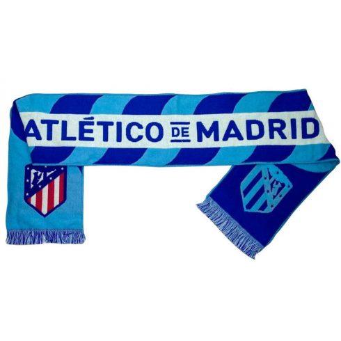 Atletico Madrid szurkolói kötött sál Azul