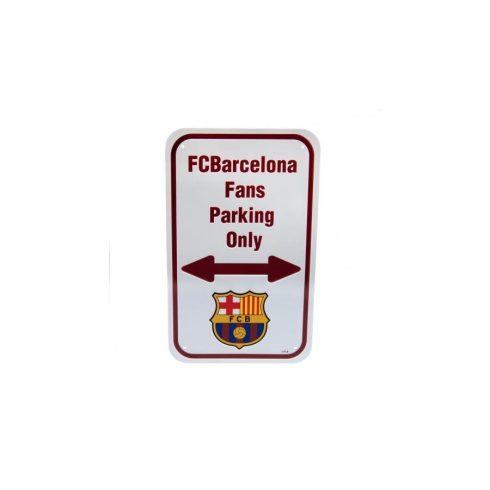FC Barcelona fém parkoló tábla