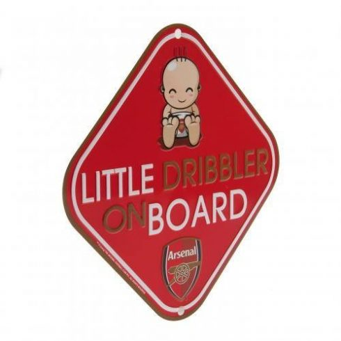 Arsenal Baby on board fémtábla