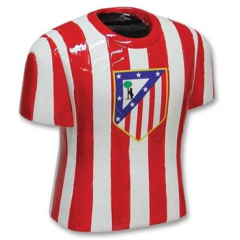 Atletico Madrid mez alakú kerámia persely