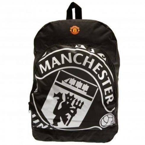 Manchester United sporttáska hátizsák Silver Black
