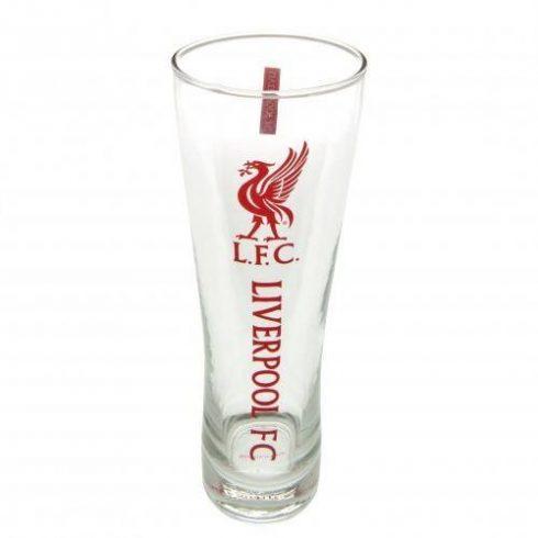 Liverpool sörös pohár üveg nagy Crest