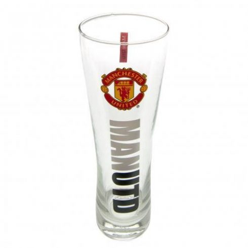 Manchester United sörös pohár üveg nagy MAN UTD