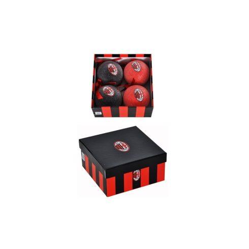 AC Milan karácsonyfadísz gömb Crest