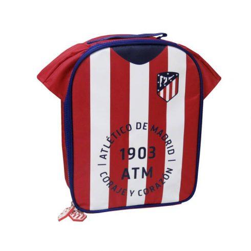 Atletico Madrid mez alakú uzsonnás táska