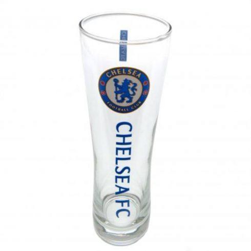 Chelsea sörös pohár üveg címeres nagy