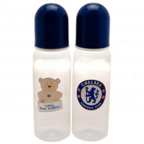 Chelsea 2db-os műanyag cumis üveg