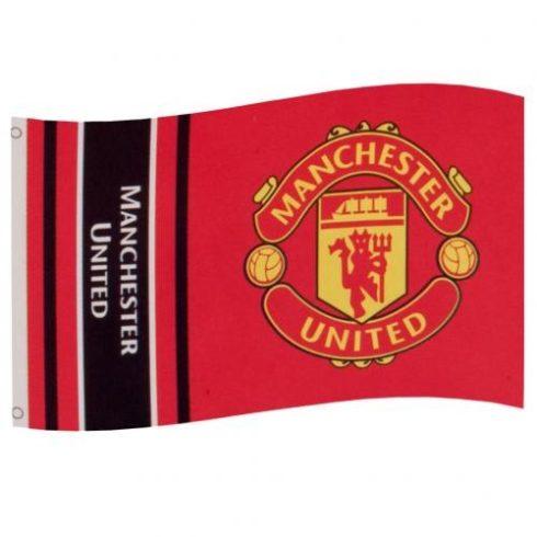 Manchester United szurkolói zászló Words