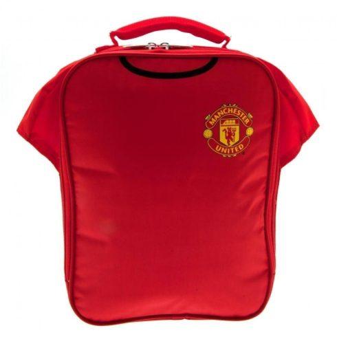 Manchester United uzsonnás táska mez alakú
