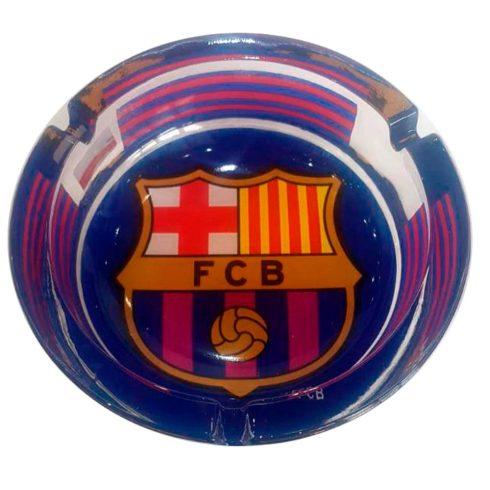 FC Barcelona üveg hamutál hamuzó címeres Grande