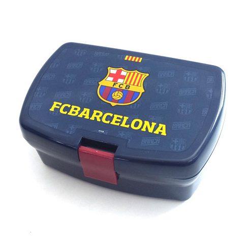 FC Barcelona műanyag uzsonnás doboz Crest