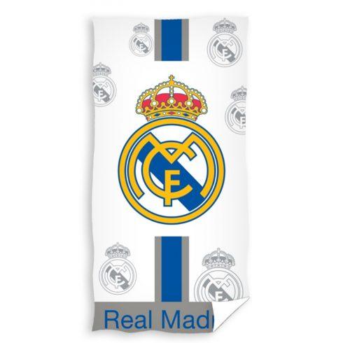 Real Madrid szurkolói törölköző fehér Blanco Crest