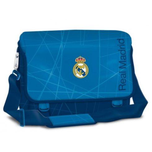 Real Madrid nagy laptop oldaltáska Star Blue