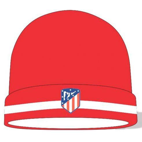 Atletico Madrid kötött téli sapka Rojo