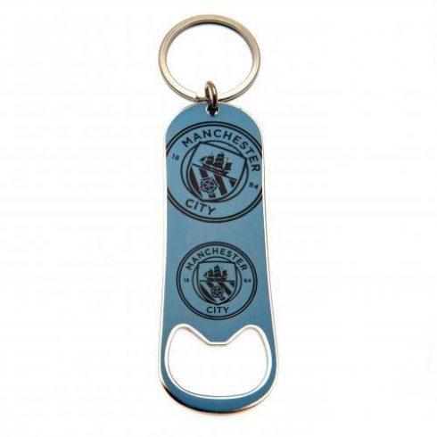 Manchester City kulcstartó sörnyitós New Crest