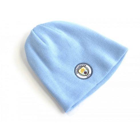 Manchester City kötött sapka címeres Sky