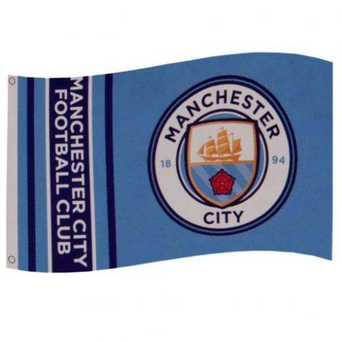 Manchester City szurkolói zászló Word