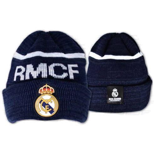 Real Madrid kötött téli sapka felnőtt Adult