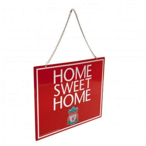 Liverpool fém tábla Home Sweet Home