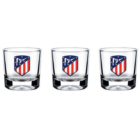 Atletico Madrid feles pohár készlet 3db-os
