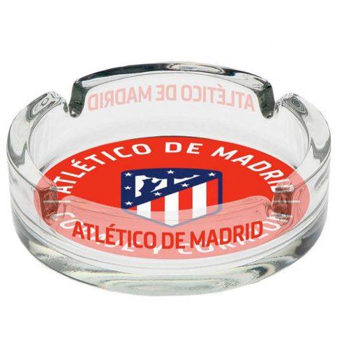 Atletico Madrid üveg hamutál hamuzó címeres