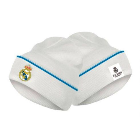 Real Madrid kötött téli sapka Blanco-Azul