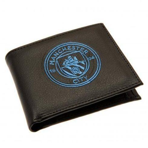 Manchester City bőr pénztárca hímzett címerrel