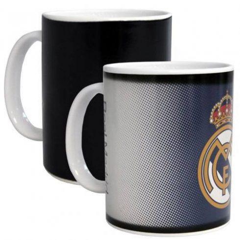 Real Madrid kerámia bögre színváltós Grey FD