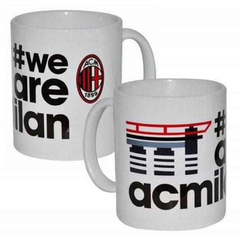AC Milan kerámia bögre We Are AC Milan