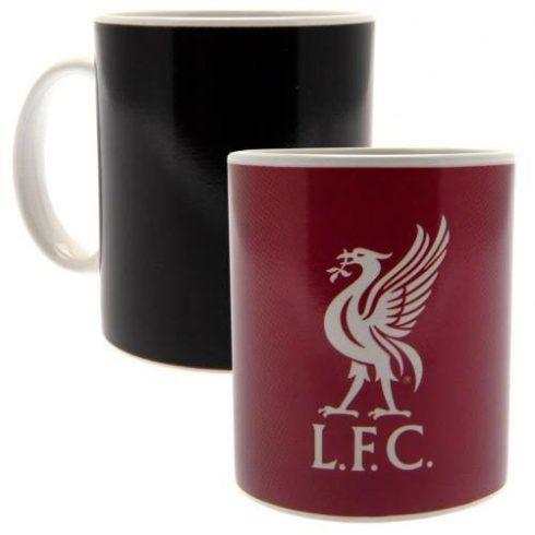Liverpool kerámia bögre hőreváltozó Red