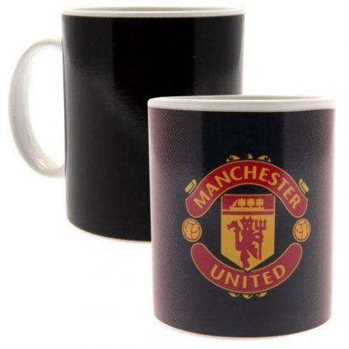 Manchester United bögre címeres hőreváltozó Crest