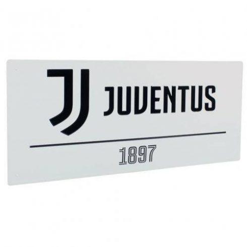 Juventus fém utca tábla 1897